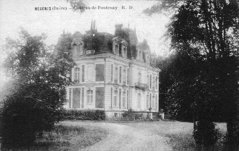 CPA_Heugnes_ChâteauFontenay