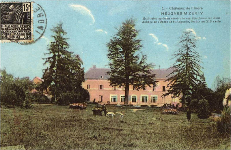 CPA_Heugnes_Chateau Miseray