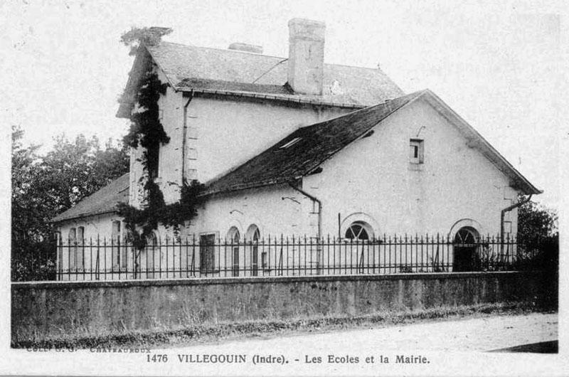 CPA_Villegouin_EcolesMairie