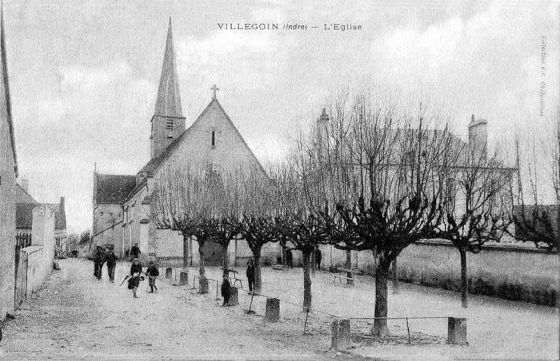 CPA_Villegouin_Eglise
