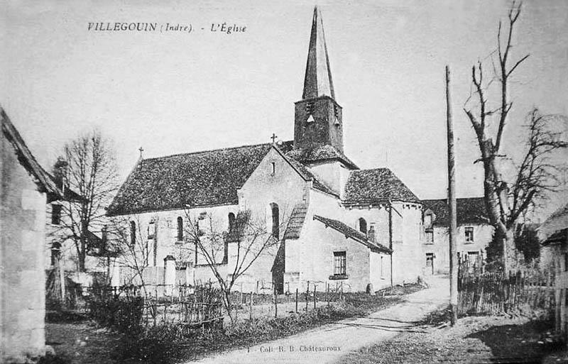 CPA_Villegouin_Eglise3