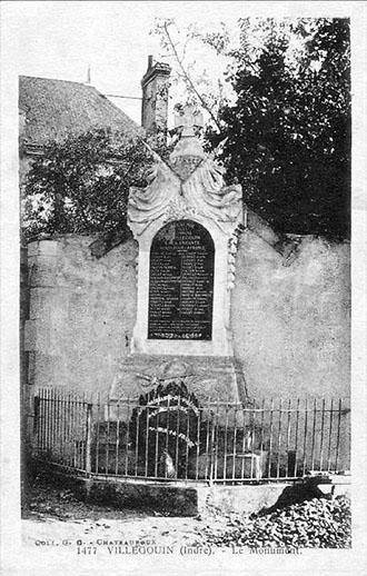 CPA_Villegouin_Monument