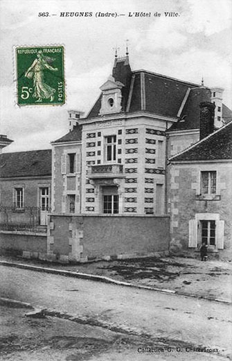 CPA_heugnes_Mairie