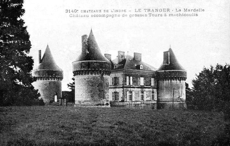 CPA_LeTranger_ChateauLaMardelle