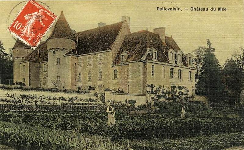 CPA_Pellevoisin_ChateauDuMée