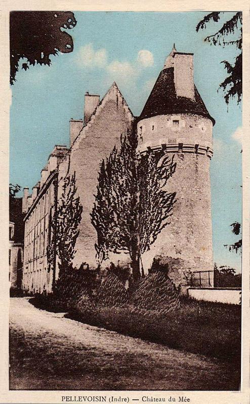 CPA_Pellevoisin_ChateauMée2