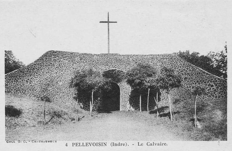 CPA_Pellevoisin_LeCalvaire3