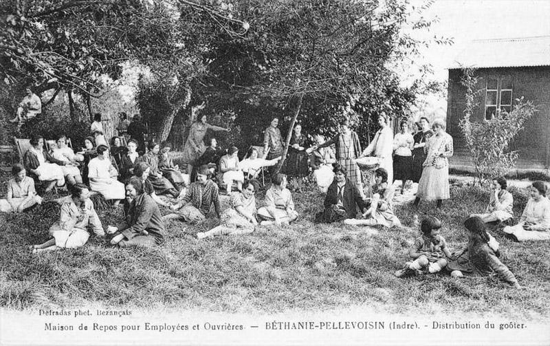 CPA_Pellevoisin_MaisonRepos