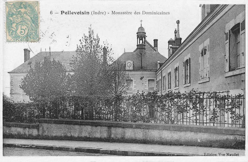 CPA_Pellevoisin_MonastereDominicaines