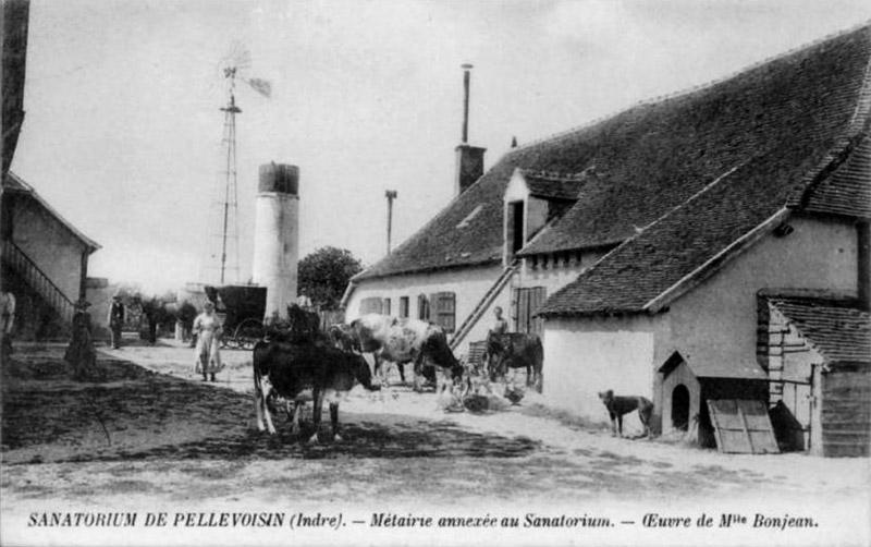 CPA_Pellevoisin_SanatoriumMaitairie