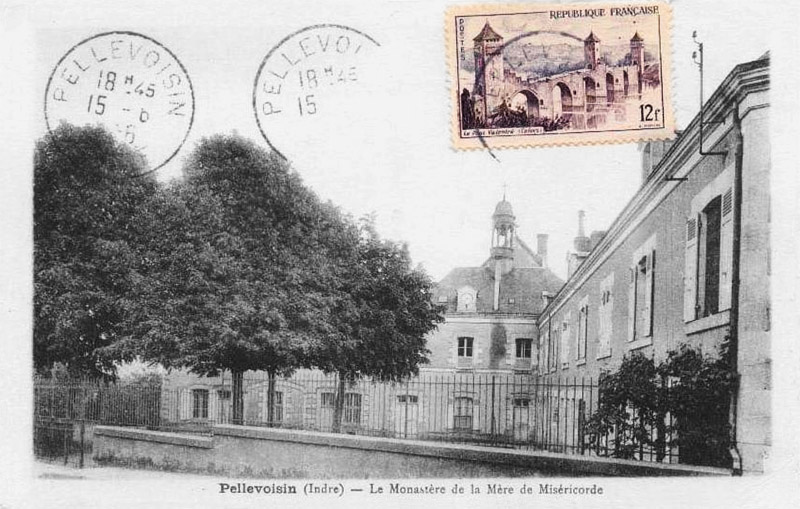 CPA_Pellevoisin_le-Monastère