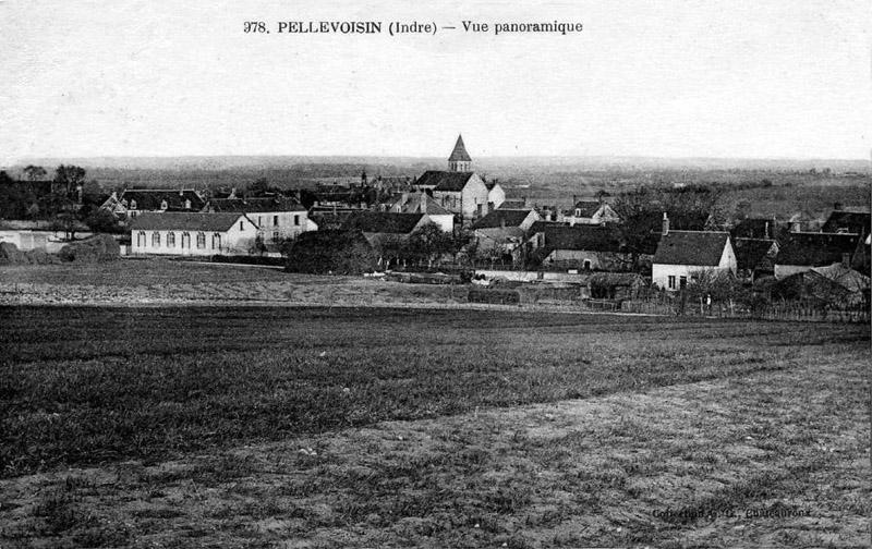 CPA_Pellevoisin_vuePanoramique