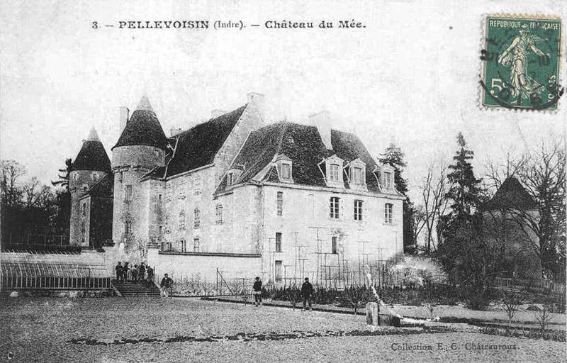 CPA_pellevoisin_ChateauMée4