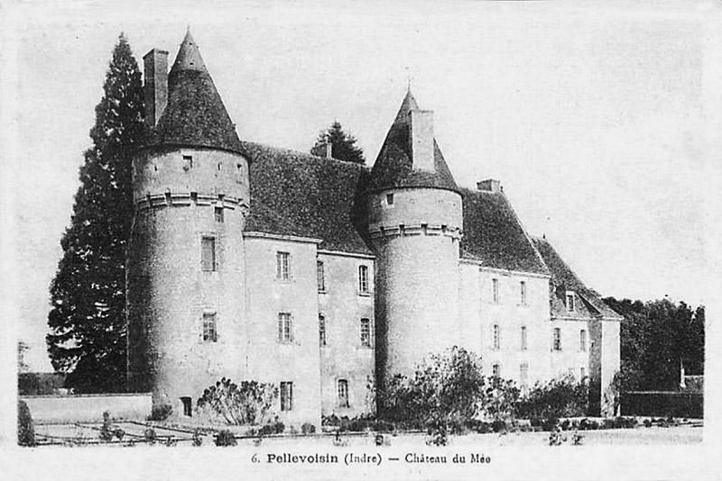 CPA_pellevoisin_ChateauMée5