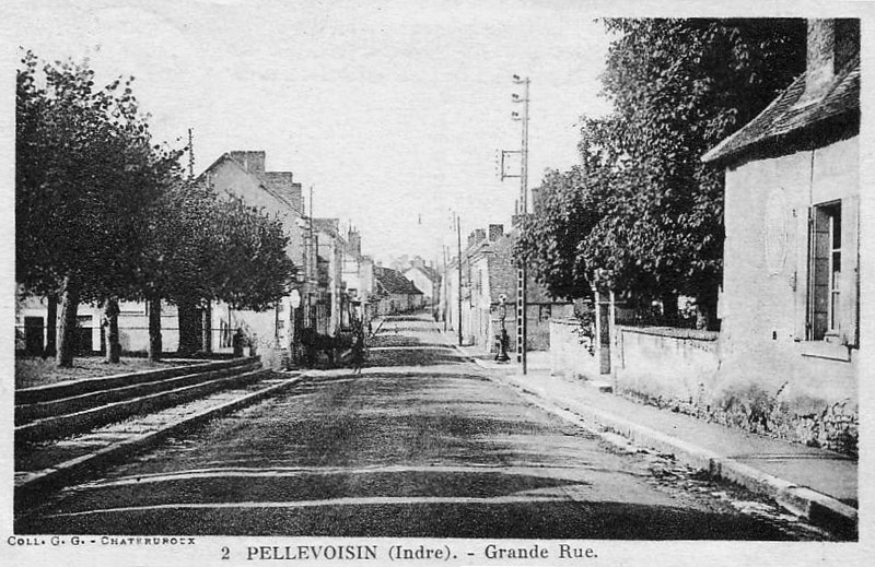 CPA_pellevoisin_GrandeRue