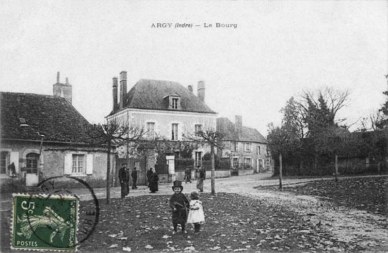 CPA_Argy_Le-bourg