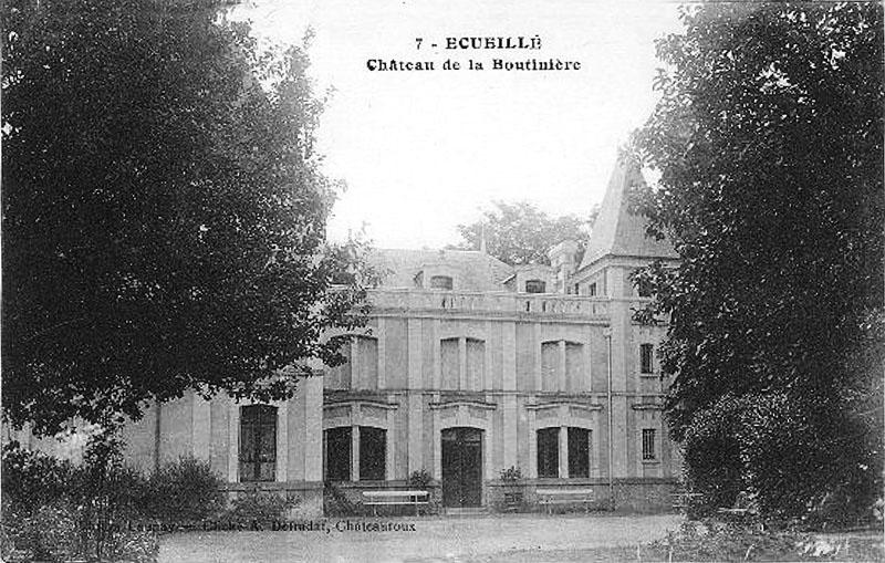 CPA_Ecueillé_ChateauBoutinière2