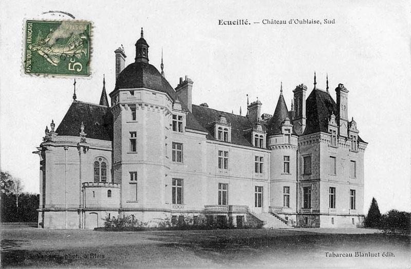 CPA_Ecueillé_ChateauOublaise3Sud