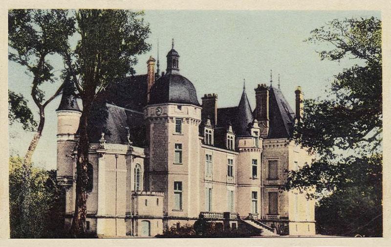 CPA_Ecueillé_ChateauOublaise4