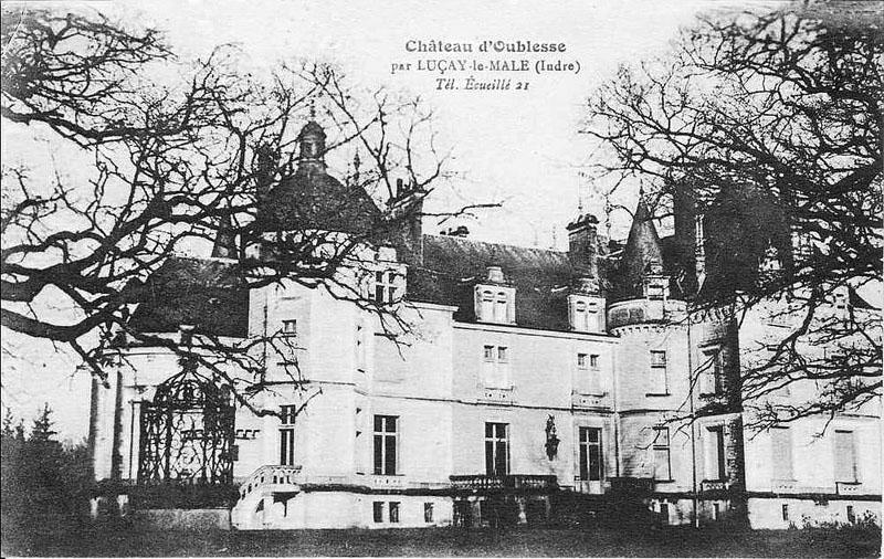 CPA_Ecueillé_ChateauOublaise5