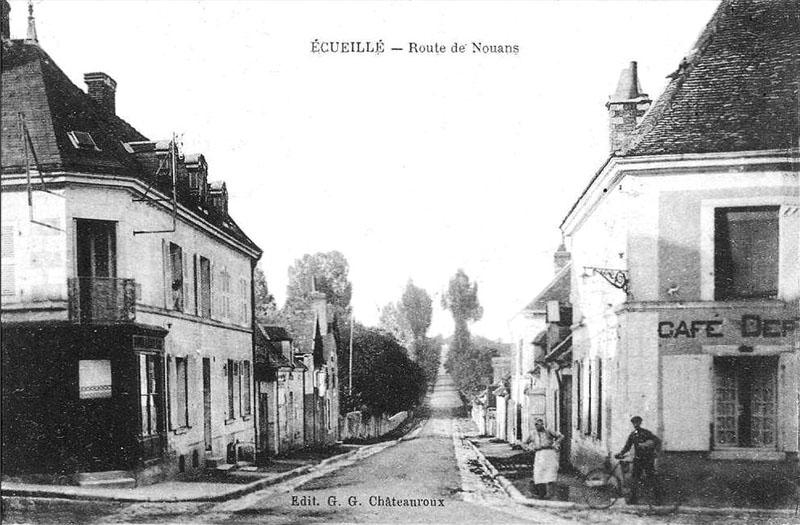 CPA_Ecueillé_RouteNouan2