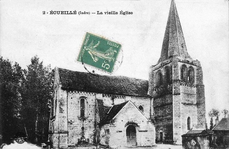 CPA_Ecueillé_VieilleEglise3