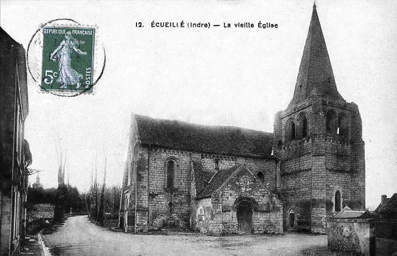 CPA_Ecueillé_VieilleEglise4