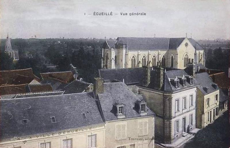 CPA_Ecueillé_VueGénérale