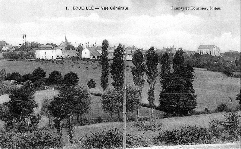 CPA_Ecueillé_VueGénérale2