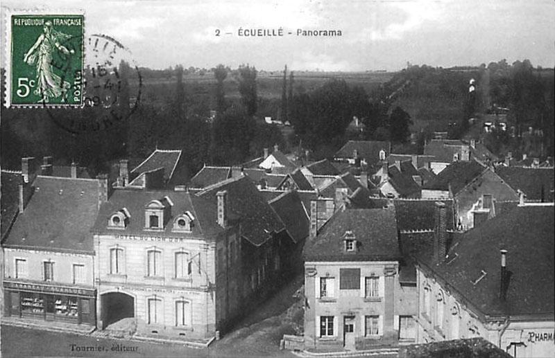 CPA_Ecueille_Panorama
