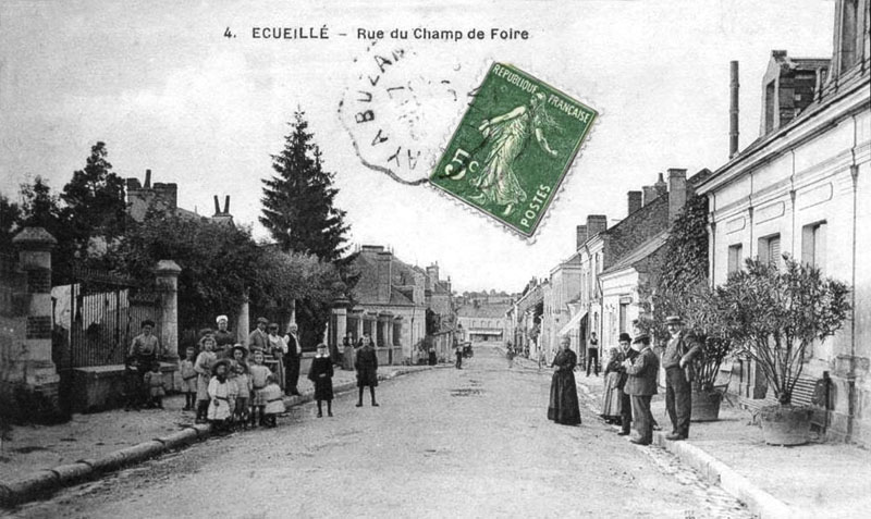 CPA_Ecueille_RueChampFoire8