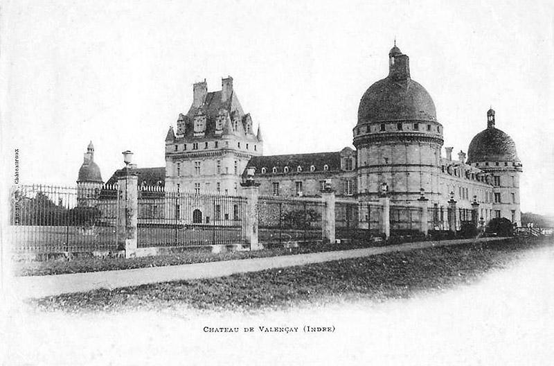 CPA_Valencay_Chateau