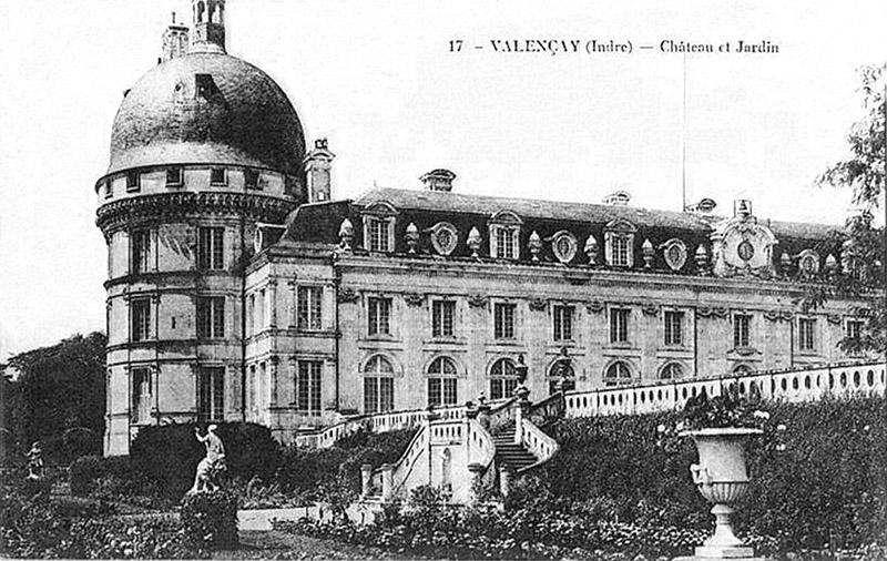 CPA_Valencay_ChateauetJardins
