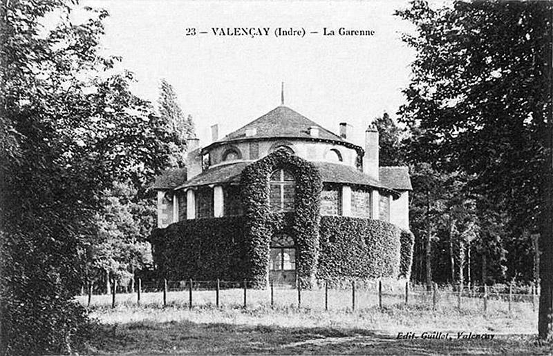 CPA_Valencay_laGarenne