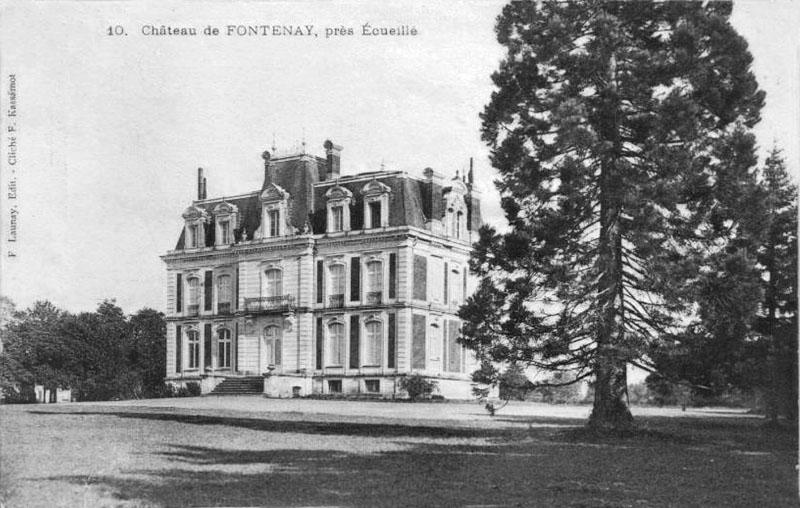 CPA_ecueillé_ChateauFontenay4