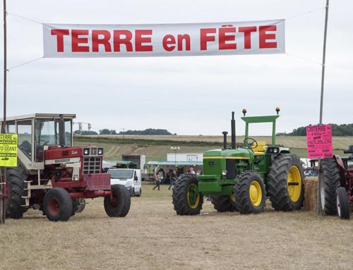 Terre en fête à Châtillon sur Indre le 13 et 14 aout 2017