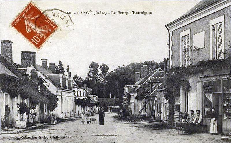 CPA_Langé_BourgEntraigues