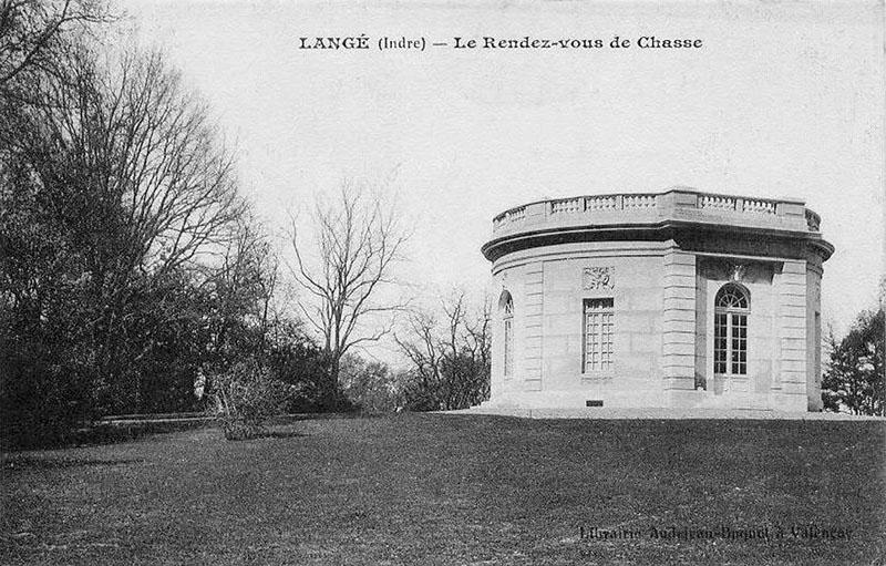 CPA_Langé_Rendez-vousChasse