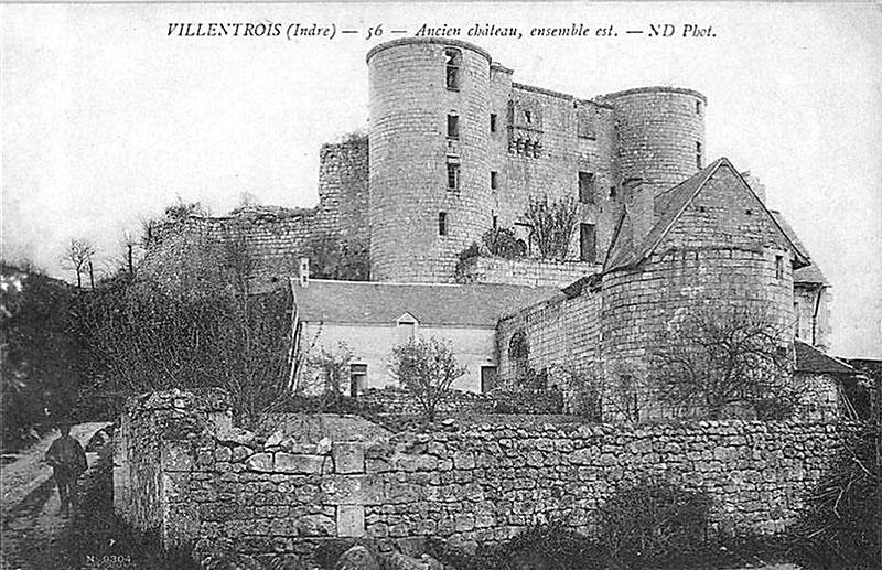 CPA_Villentrois_Ancien.Chateau.Est_