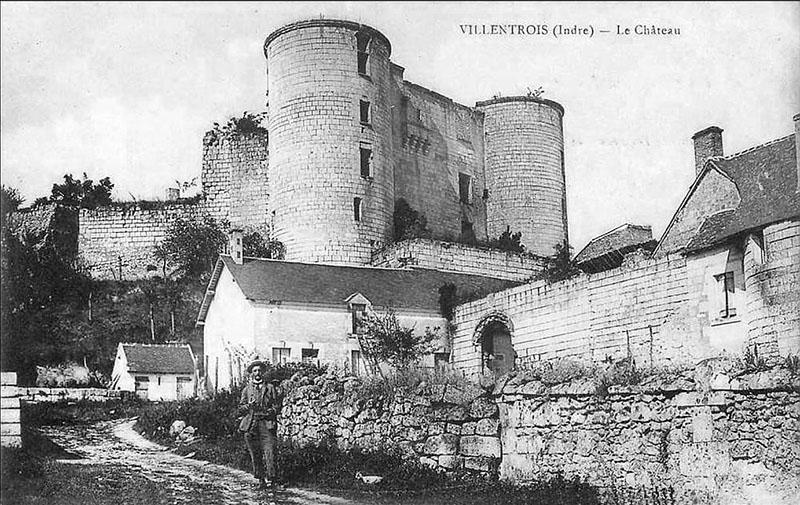 CPA_Villentrois_Chateau