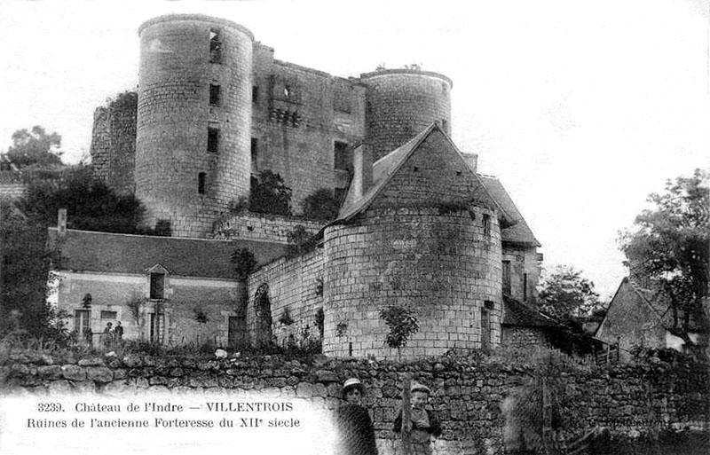 CPA_Villentrois_Chateau02