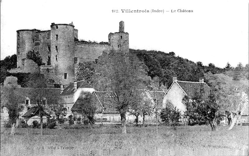CPA_Villentrois_Chateau03