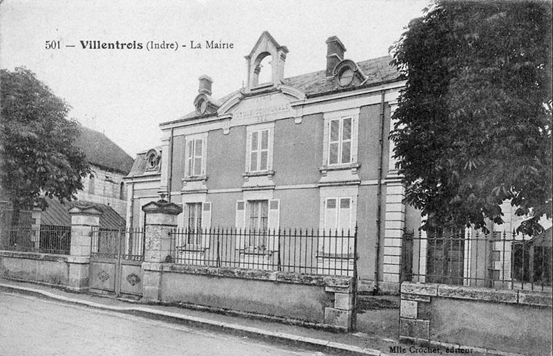 CPA_Villentrois_La.Mairie