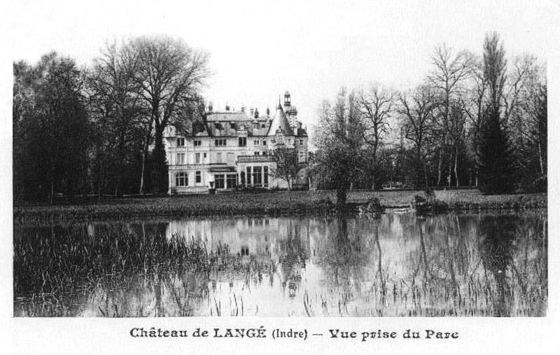 CPA_langé_ChateauvuduParc2